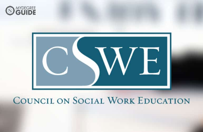 logo for the Council on Social Work Education