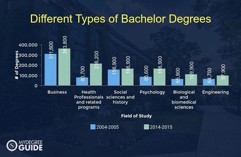 Different Types of Bachelor Degrees