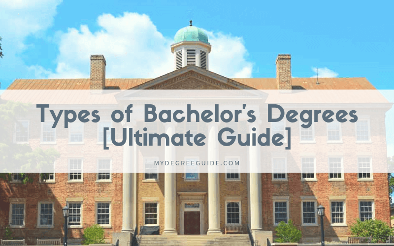 Different types of bachelors degrees