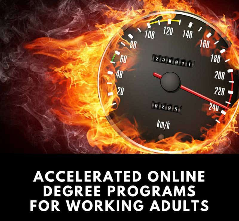 Accelerated Online Degrees for Working Adults