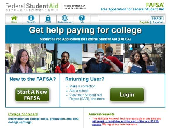 Financial aid for adults going back to school