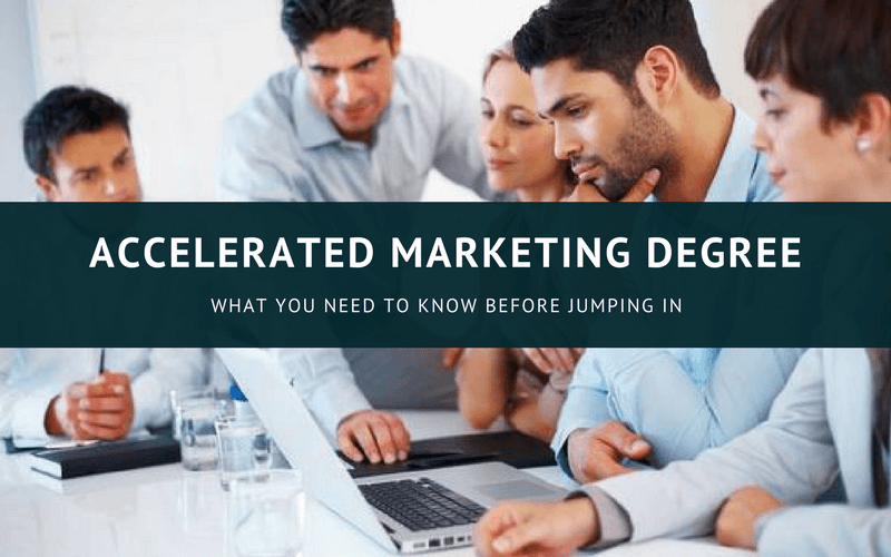 Accelerated marketing degree online