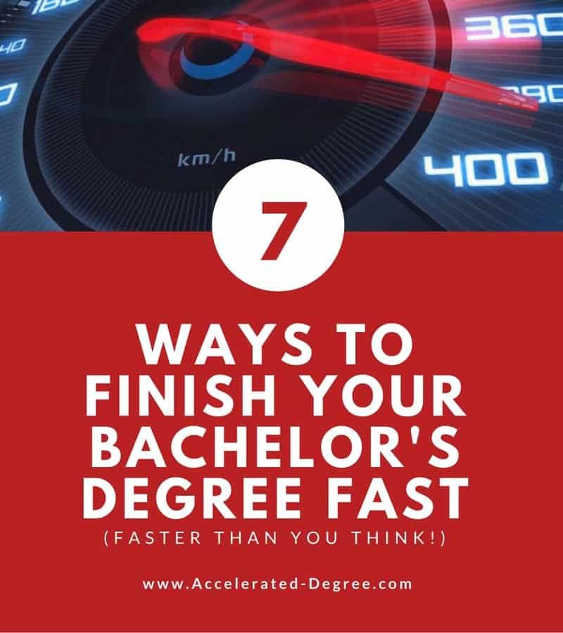 Accelerated Bachelors Degree Online - 7 Ways to Finish Your Degree Fast