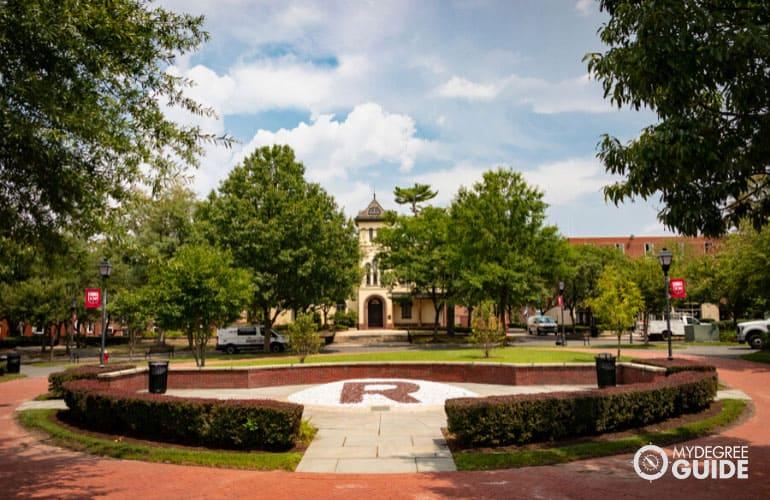 nice looking university campus