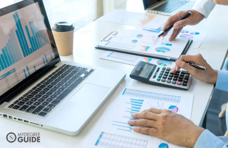analyzing financial statements of a company