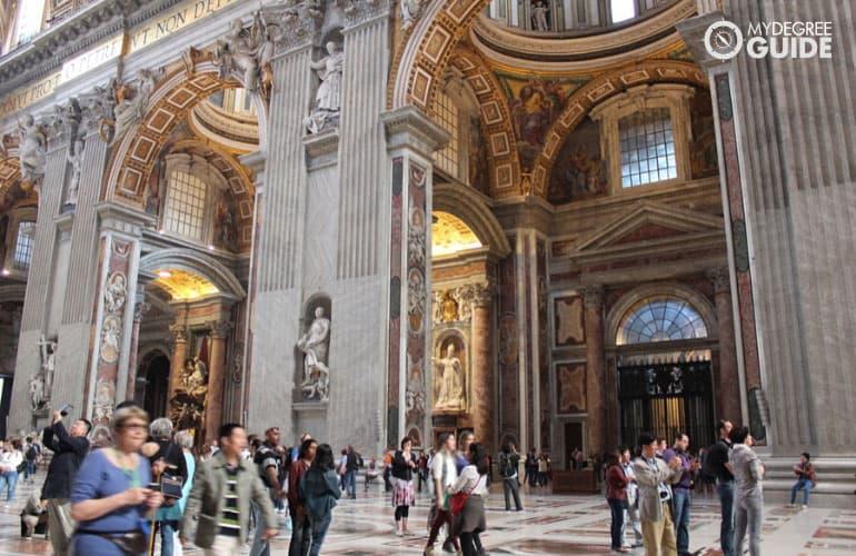 sistine chapel at rome italy