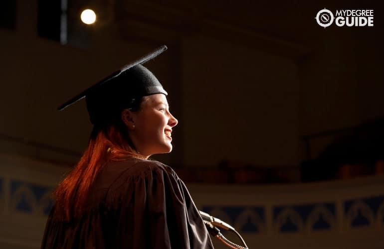 graduating PhD student