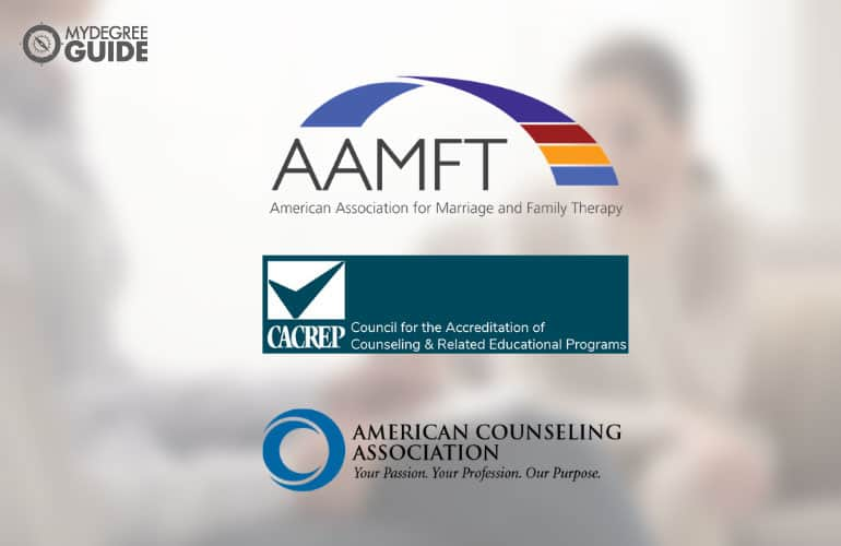 logos of Professional Organizations for those with a Counseling PhD