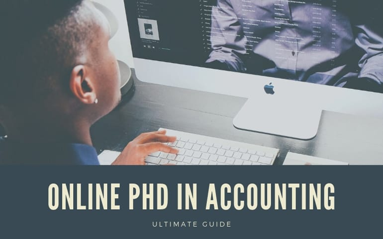 Online PhD in Accounting Programs