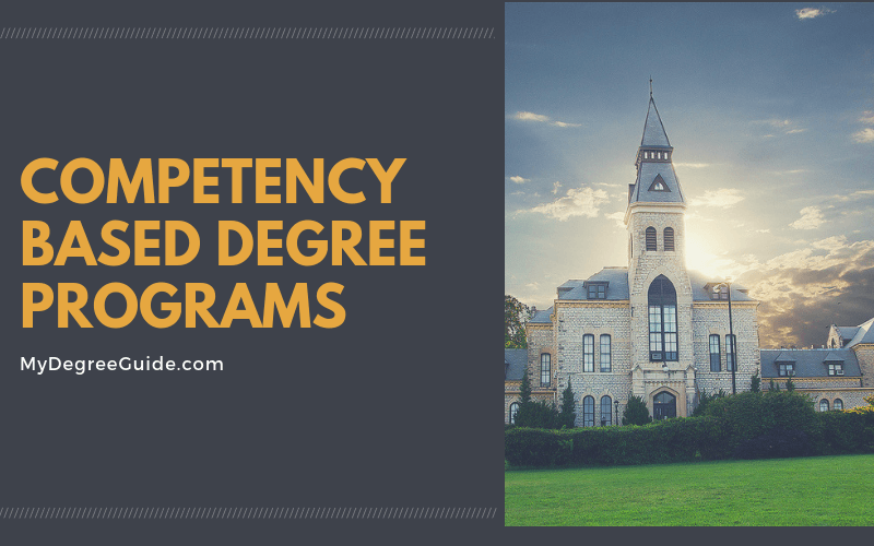 Competency Based Degree Programs