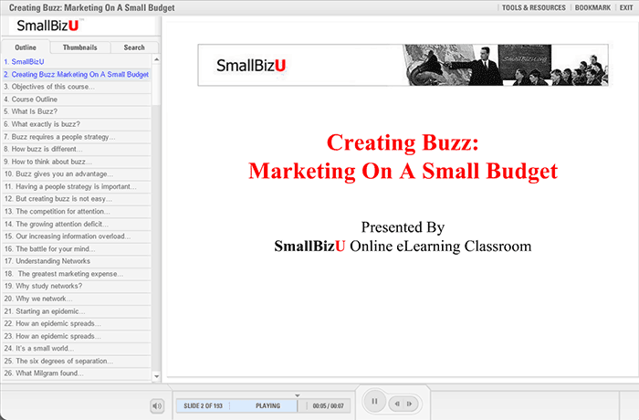 Creating Buzz: Marketing on a Small Budget