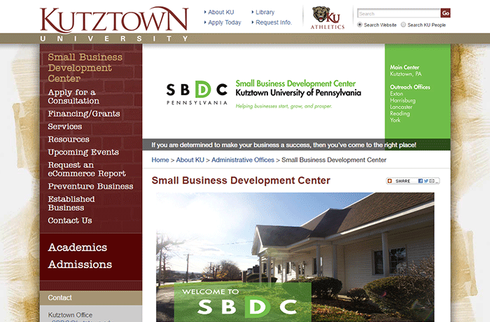 Kutztown University - Running a Profitable Company