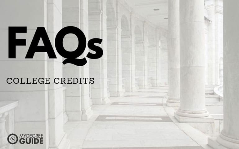 FAQs about college credits