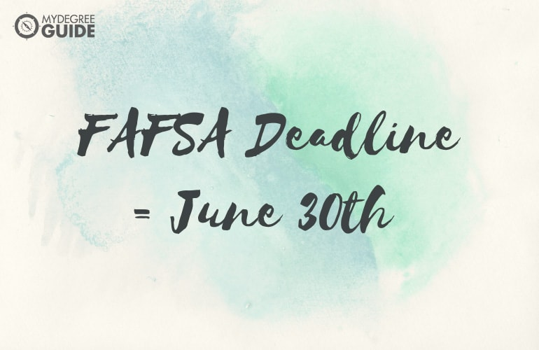 Filling Out the FAFSA: When and How