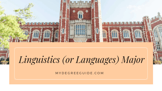 Linguistics (or Languages) Major