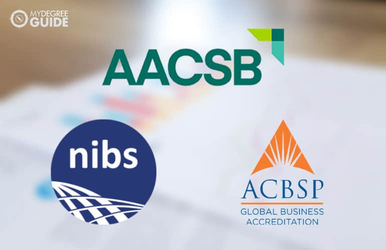 logos of accreditation boards
