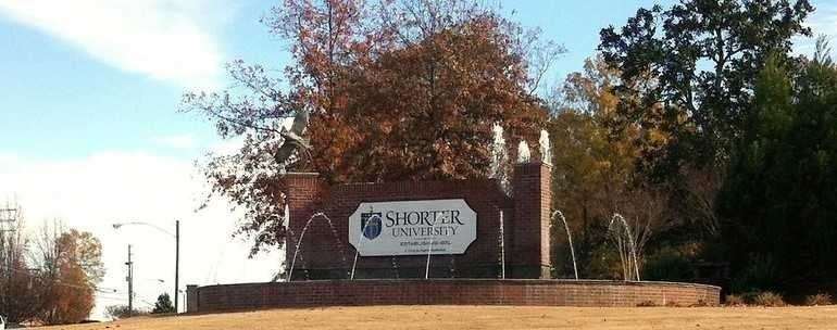 Shorter University campus