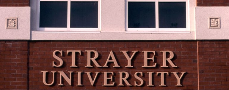 Strayer University campus