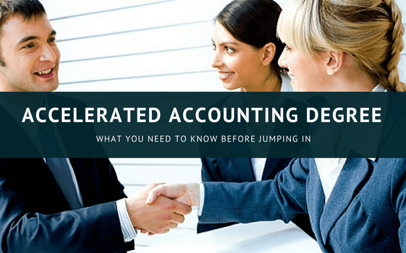 accelerated accounting degree online