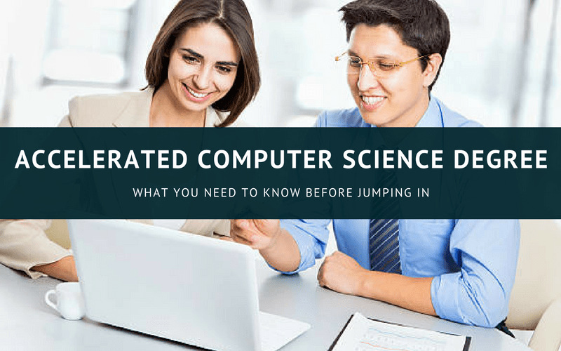 Accelerated computer science degree online