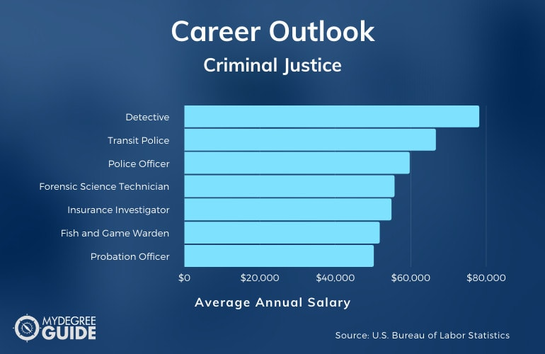 Careers with an Accelerated Criminal Justice Degree