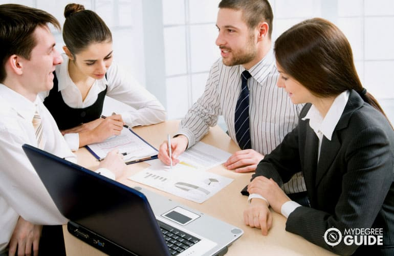 Accelerated finance degree