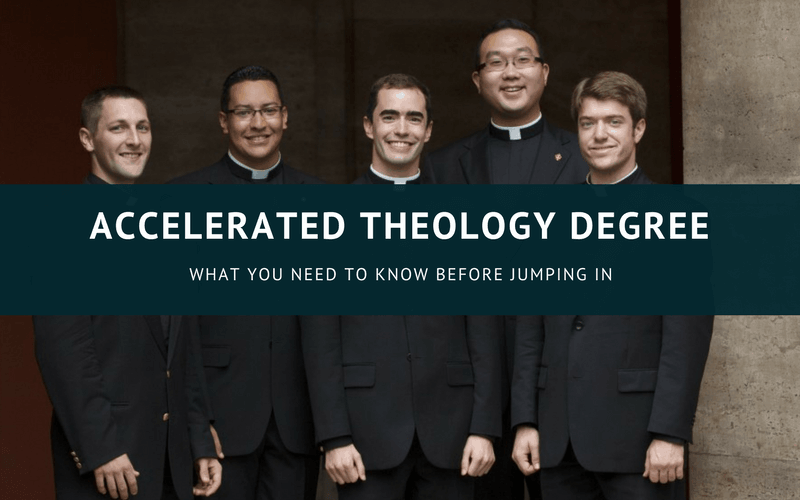 Accelerated theology degree online