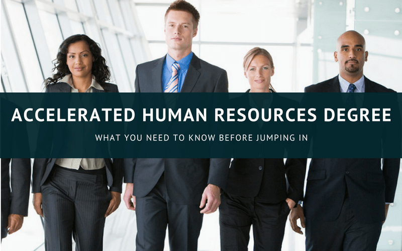 Accelerated human resources degree online