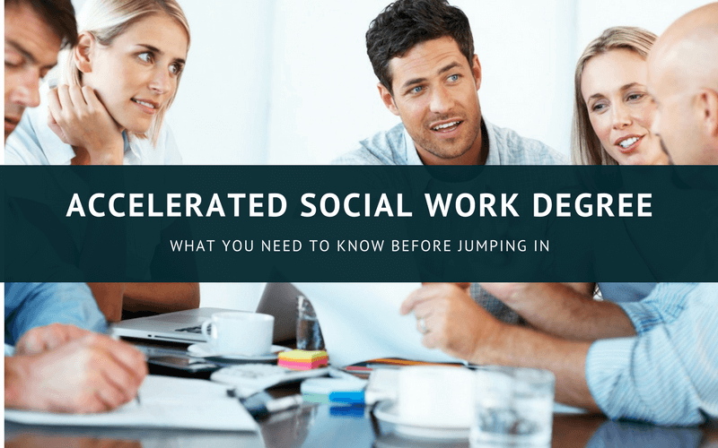Accelerated social work degree online