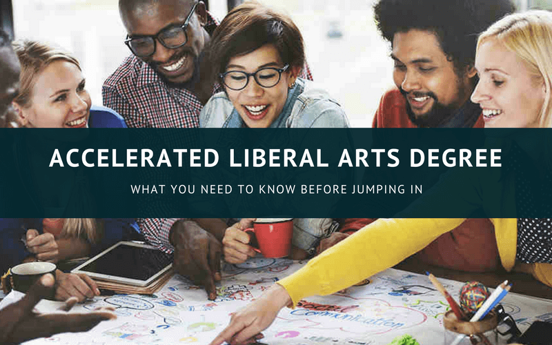 Accelerated liberal arts degree online
