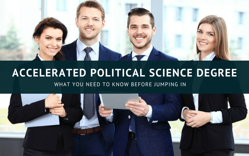 Accelerated Political Science degree online