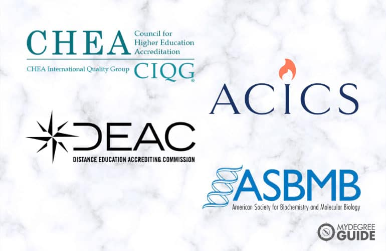 logos of national accreditation boards