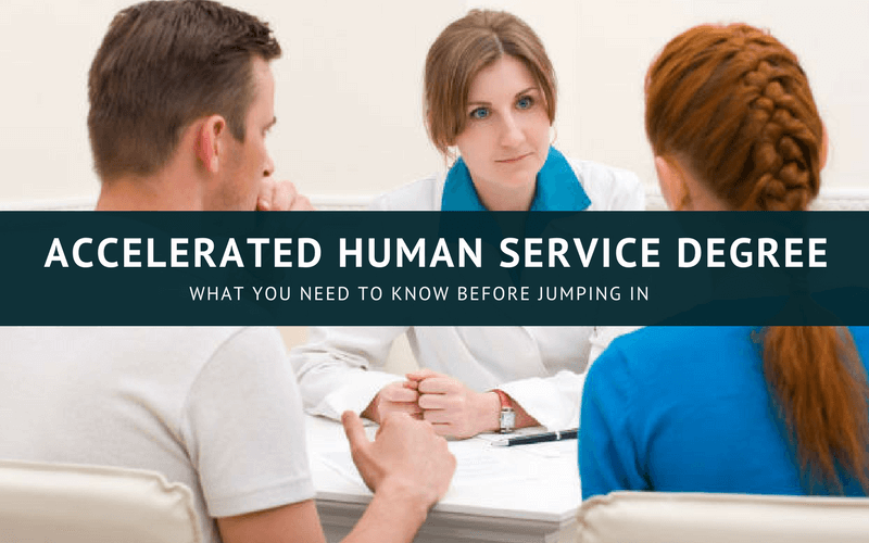 Accelerated human services degree online