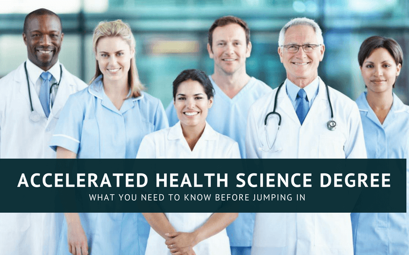 Accelerated health science degree online
