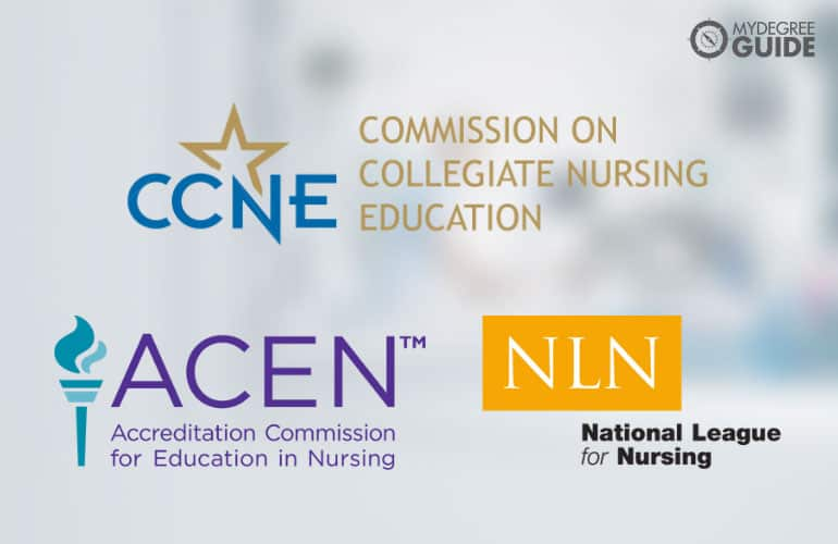 logos of National accreditors in the field of nursing