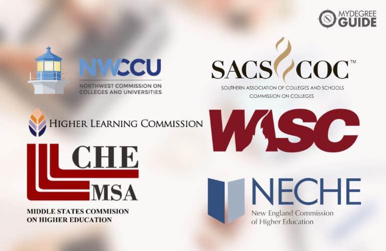 logos of regional accreditation board