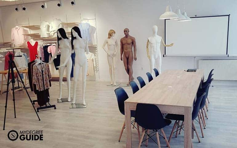 professional fashion merchandising studio