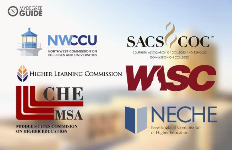 logos of regionalaccrediting boards