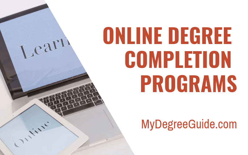 online degree completion programs for bachelor's degree
