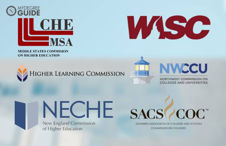 logos of the accreditation boards