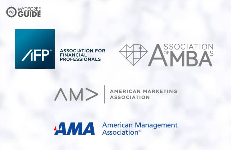 logos of Professional Organizations for Those with an MBA