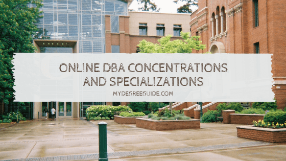 Online DBA Concentrations and Specializations