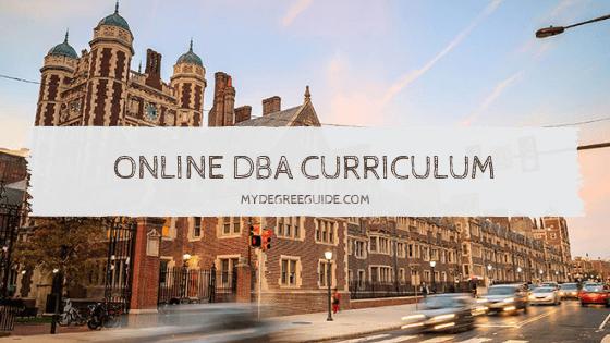 Online DBA Curriculum
