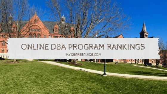 Online DBA Program Rankings