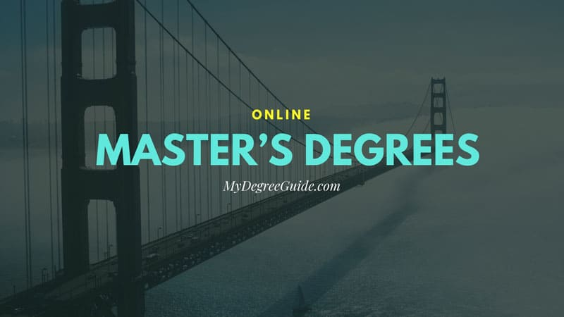 Online master degree students studying together