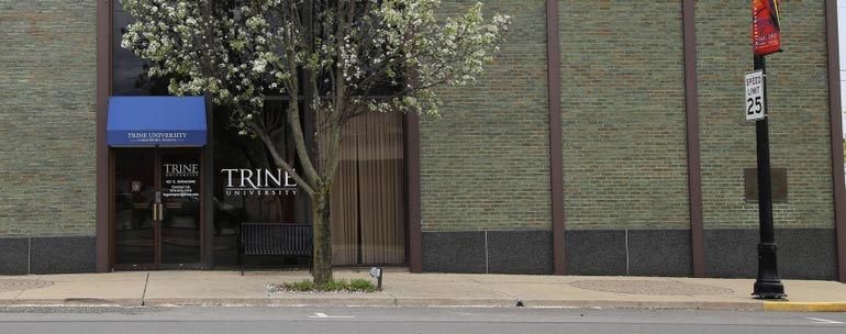 trine university campus