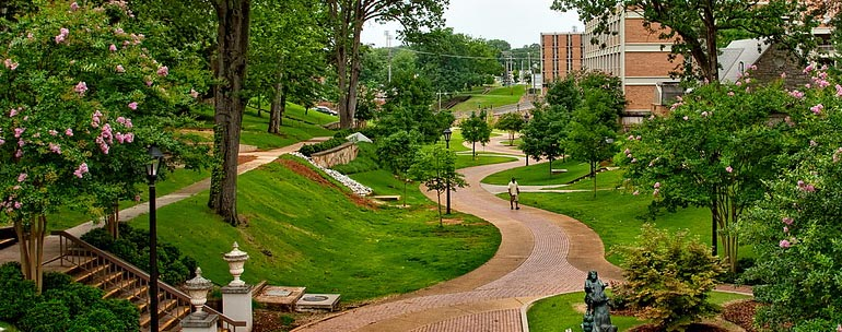 University of North Alabama campus