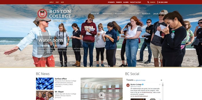 Difference between Boston College and Boston University