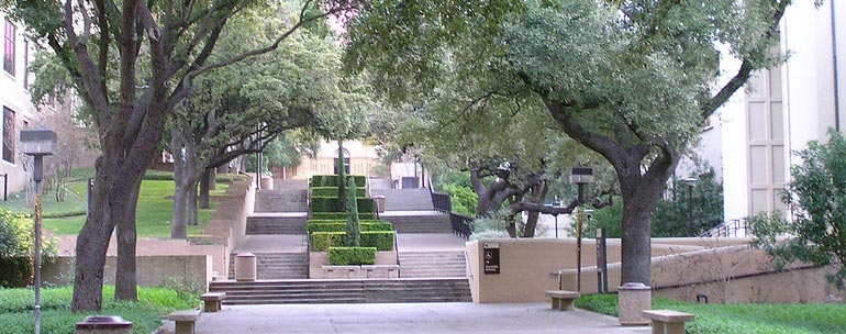 Texas State University campus