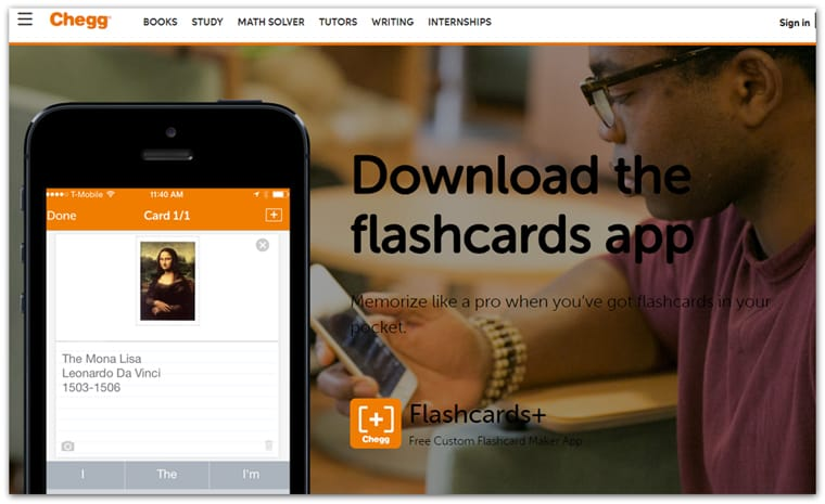 Chegg Flashcards Study App